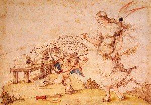 Albrecht Dürer - Cupid the Honey Thief