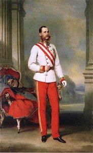 Franz Xavier Winterhalter - Emperor Franz Joseph I