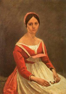 Jean-Baptiste-Camille Corot - Madame Legois