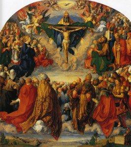 Albrecht Dürer - Adoration of the Trinity