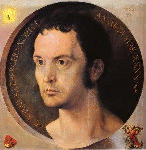Albrecht Dürer - Portrait of Johannes Kleberger