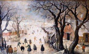 Hendrick Avercamp - Winter Landscape