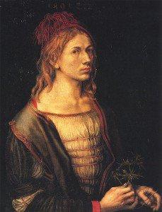 Albrecht Dürer - Self Portrait at 22
