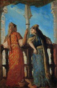 Théodore Chassériau - Juives d'Alger au balcon