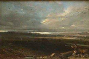 Alexandre-Gabriel Decamps - The Plain of Battle