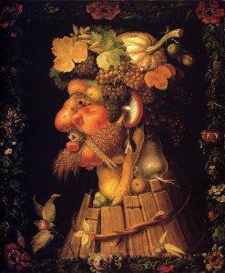 Giuseppe Arcimboldo - The Four Seasons (Louvre Series) 03 - Autumn