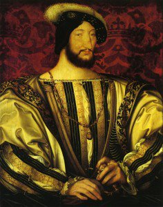 Jean Clouet - Portrait of Francis I