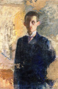Edvard Munch - Self-Portrait