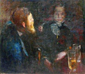 Edvard Munch - Tête-à-Tête