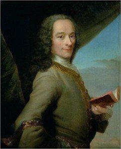 Maurice Quentin de La Tour - Portrait of Voltaire