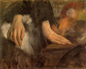Edgar Degas - Study of Hands