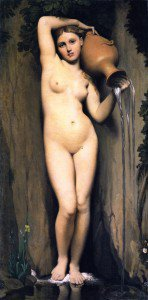 Jean-Auguste-Dominique Ingres - The Source