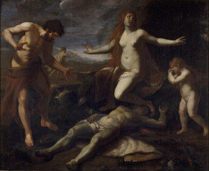 Alessandro Turchi - Adam and Eve Weeping over the Death of Abel