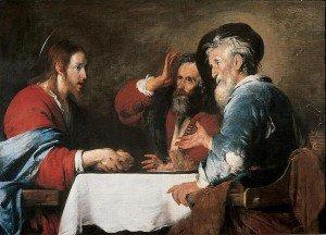 Bernardo Strozzi - Christ at Emmaus