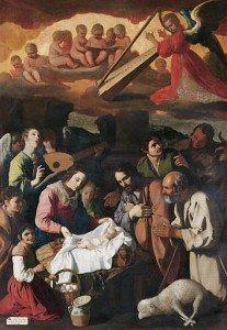 Francisco de Zurbarán - The Adoration of the Shepherds