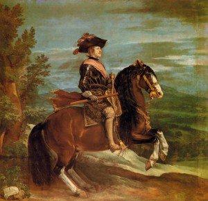 Diego Velázquez - Philip IV on Horseback