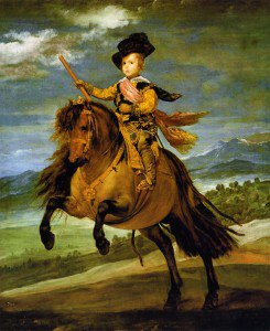 Diego Velázquez - Prince Baltasar Carlos on Horseback