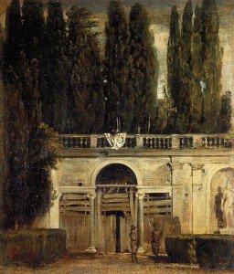 Diego Velázquez - Villa Medici in Rome and Facade of the Grotto-Loggia