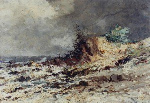 Antonio Parreiras - Seascape
