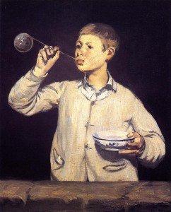 Édouard Manet - Soap Bubbles