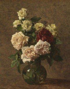 Henri Fantin-Latour - Jug with Roses