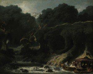Jean-Honoré Fragonard - The Isle of Love