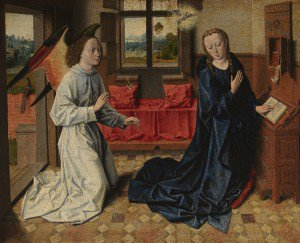 Follower of Dieric Bouts - Annunciation