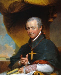 Gilbert Stuart - Bishop Jean-Louis Anne Magdelaine Lefebvre de Cheverus
