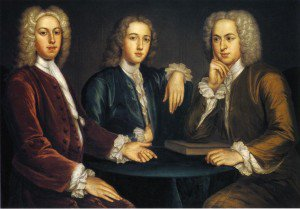 John Smibert - Daniel, Peter, and Andrew Oliver