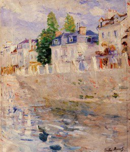 Berthe Morisot - The Quay at Bougival