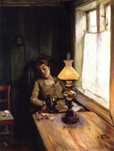 Christian Krohg - Tired