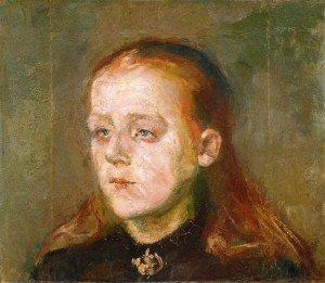 Edvard Munch - Betzy Nilsen
