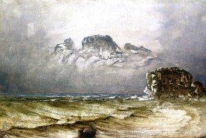 Peder Balke - Coastal Landscape with Wreck