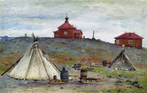 Alexander Borisov - Camp on Novaya Zemlya
