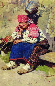 Sergei Arsenevich Vinogradov - Peasant Woman