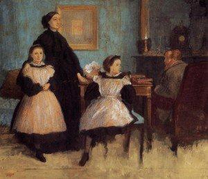 Edgar Degas - The Bellelli Family