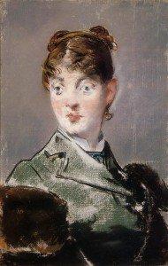 Édouard Manet - Parisienne, Portrait of Madame Jules Guillemet