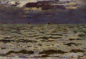 Claude Monet - Seascape