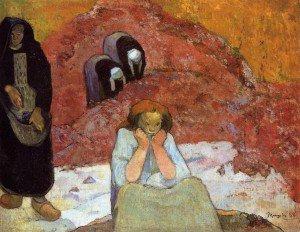 Paul Gauguin - Grape Harvest in Arles