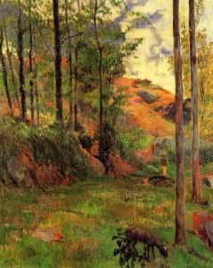 Paul Gauguin - Path down to the Aven