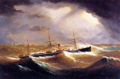 Buttersworth, James Edward - British Steamer 'Galia'