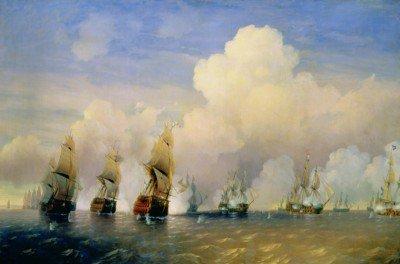 Bogoliubov, Alexey - The Russo-Swedish Sea War near Kronstadt in 1790