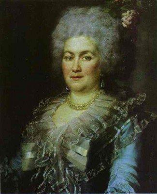 Levitzky, Dmitry - Portrait of Gubareva