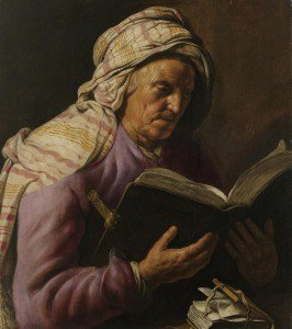 Jan Lievens - Old Woman Reading