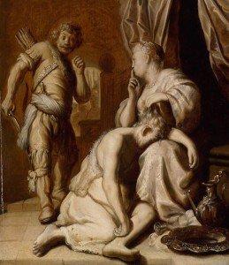 Jan Lievens - Samson and Delilah (Simson en Delila)