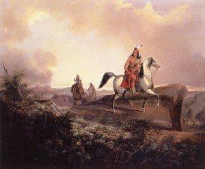John Mix Stanley - Black Knife, an Apache Warrior
