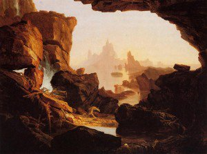 Thomas Cole - The Subsiding Waters of the Deluge