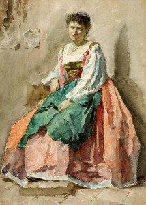 Cesare Biseo - Portrait of a Lady