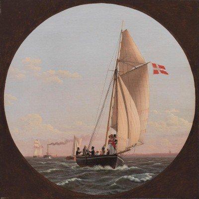 Eckersberg, C. W. - En route to Charlottenlund