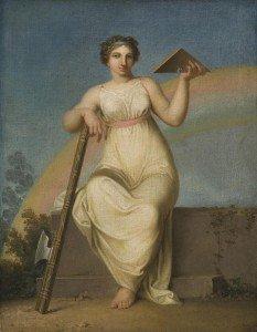 Nicolai Abraham Abildgaard - Allegorical Figure of Jurisprudence